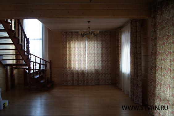 Интерьер дома из бруса
