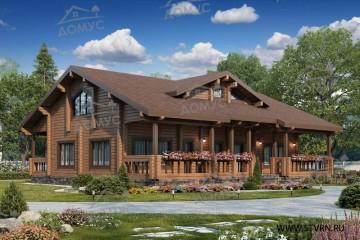 Деревянные дома от 250 до 300 квадратных метров