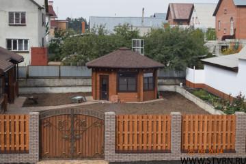 Гриль-домик в Старом Осколе