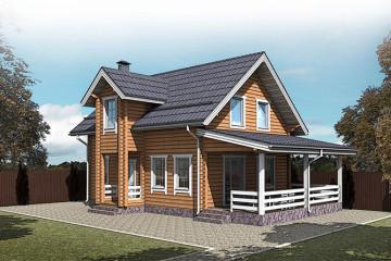 Деревянные дома от 100 до 200 квадратных метров