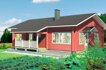 Финские дома до 100 квадратных метров