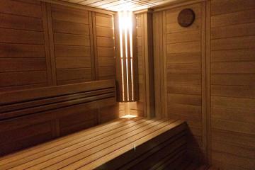 Интерьер бани в Чертовицке