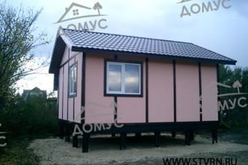 Дачный домик «под фахверк»