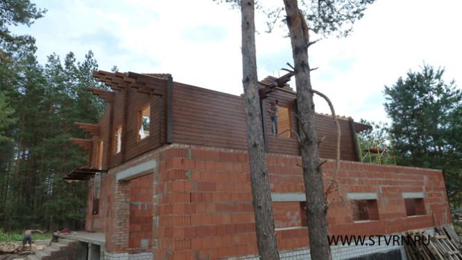 Шале из кедра в Медовке