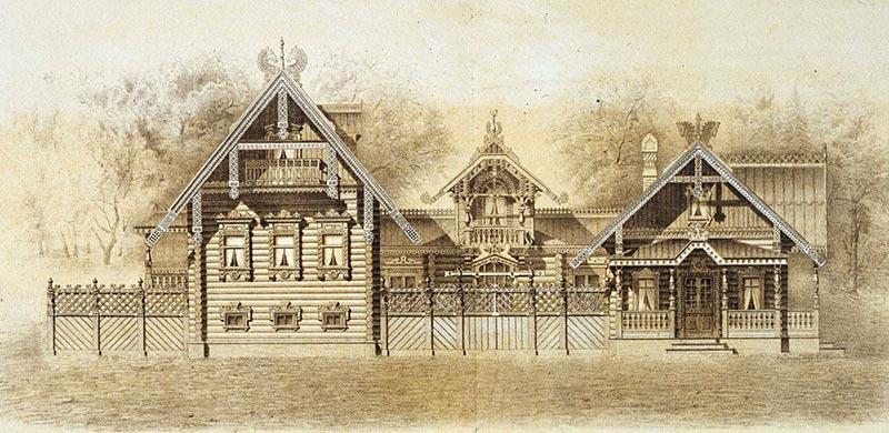 Деревянные дома на Руси