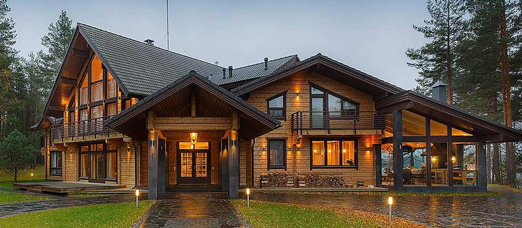 Различные деревянные дома (ч. 2)