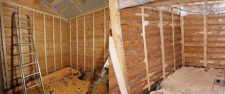 Этапы отделки деревянного дома
