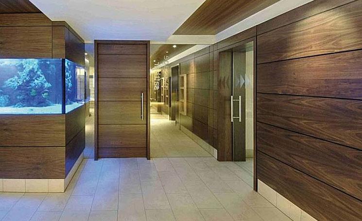 Стеновые панели деревянного дома