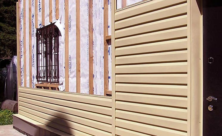 Сайдинг для деревянного дома
